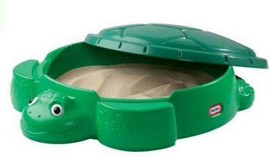 Image de Bac a sable tortue little tikes
