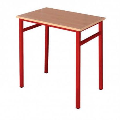 Image de TABLE ETUDIANT C30 TOP STRATIFIE L70XP50XH75