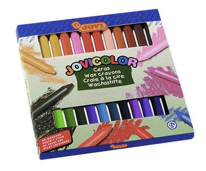 Image de jovi 24 crayons wax 980/24
