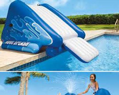 Image de Tobboggan gonflable pour piscine