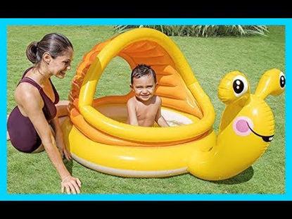 Image de Piscine escargot pour bébé
