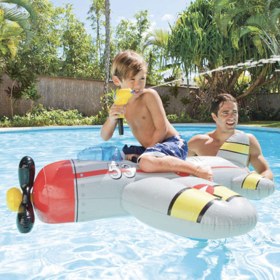 Image de Avion gonflable intex pour plage