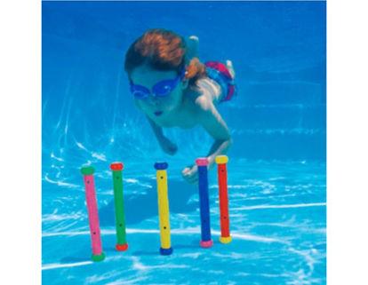 Image de Jeu de piscine lot de 5 battons