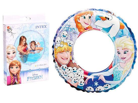 Image de Bouée gonflable la reine des neiges diam 51 cm