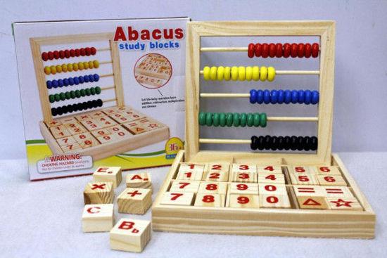 Image de abacus study blocks