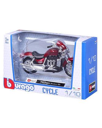 Image de 1/18 MOTO BBURAGO - Boite fenêtrée -