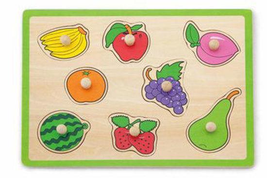 Image de flat puzzle viga  vegetables and fruits 22cm x 30cm x 1cm