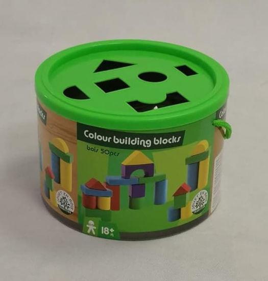 Image de blocs de construction de couleur