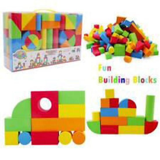 Image de blocs de construction en mousse