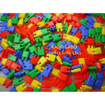 Image de plastic blocks 500 g ak365