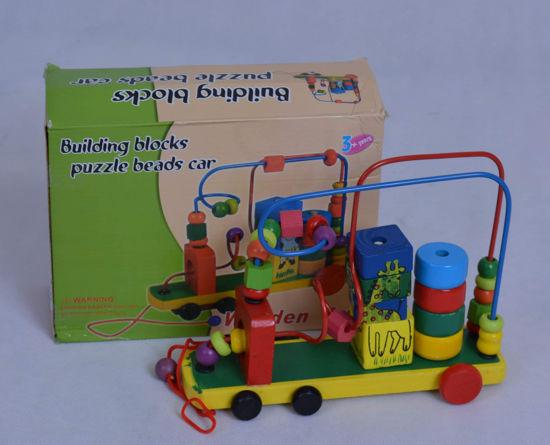 Image de building blocks puzzle beads car ak249