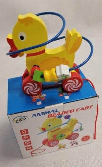 Image de animal beaded cart Ak220