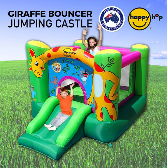 Image de Happy Hop 9403 Chateau gonflable  Giraffe