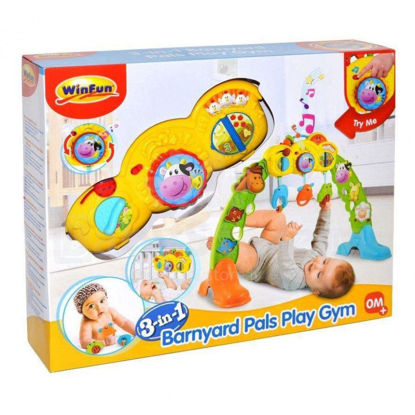 Image de 3-IN-1 BARNYARD PALS PLAY GYM