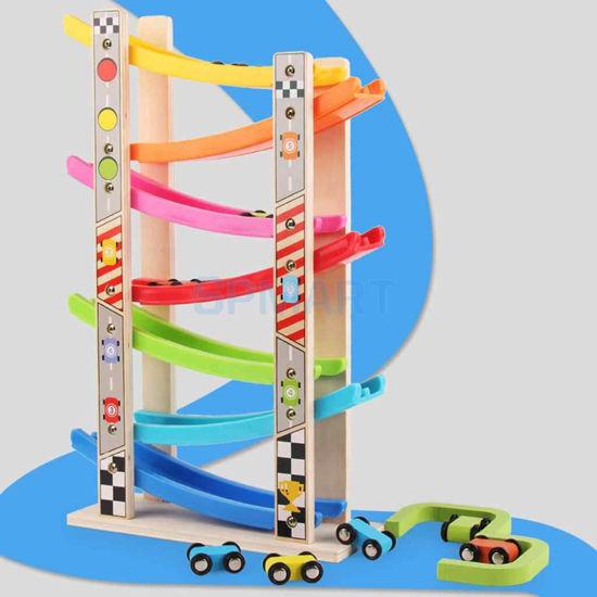 Image de piste de rampe en bois ak229
