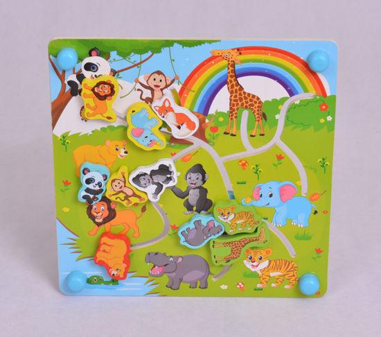 Image de WOODEN TOYS  29.5 cm x 29 cm x 0.5 cm