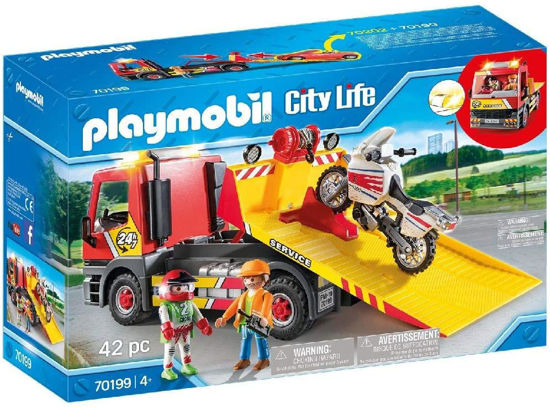 Image de playmobil towing service