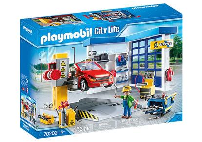 Image de Playmobil car repair garage