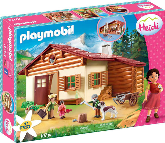 Image de Playmobil Heidi at the alpine hut