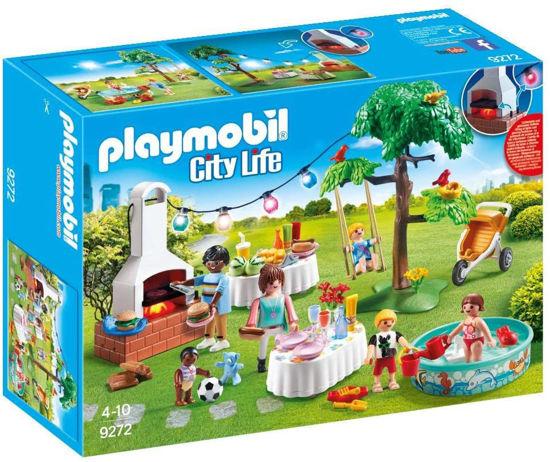 Image de Playmobil famille et barbecue  estival