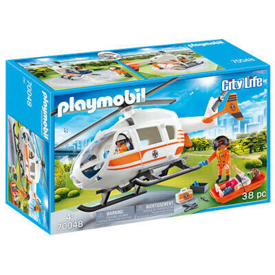 Image de Playmobil rescue helicopter