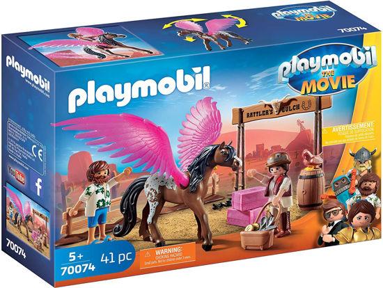 Image de Playmobil  The Movie Marla et Del avec Cheval ailé