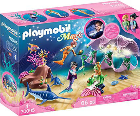 Image de PLAYMOBIL Mermaid Pearl Shell Nightlight