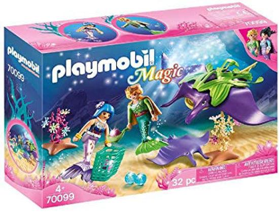 Image de PLAYMOBIL Mermaid Pearl Collectors with Manta Ray