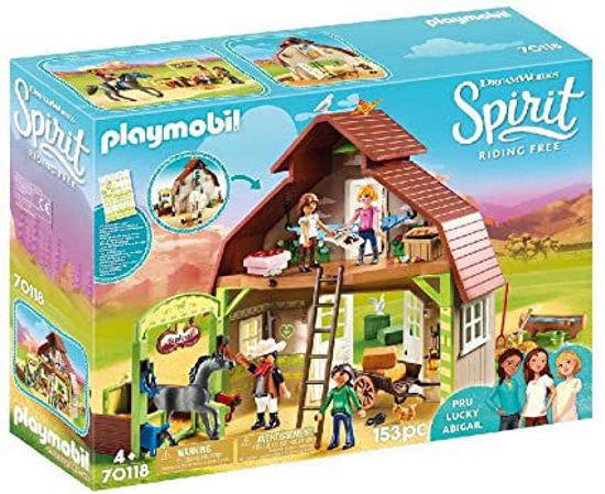 Image de Playmobil Spirit Riding Barn - Pru, Lucky & Abigail