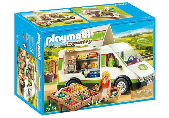 Image de Playmobil Mobile Farm Market