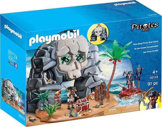 Image de PLAYMOBIL Take Along Pirate Skull Island