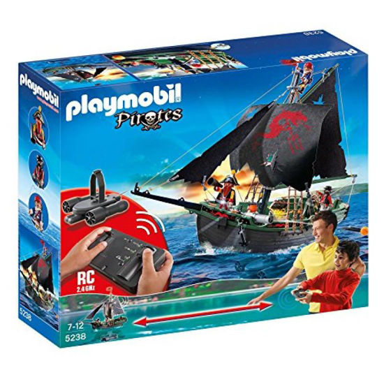 Image de Playmobil Pirates Skull Pirate Ship