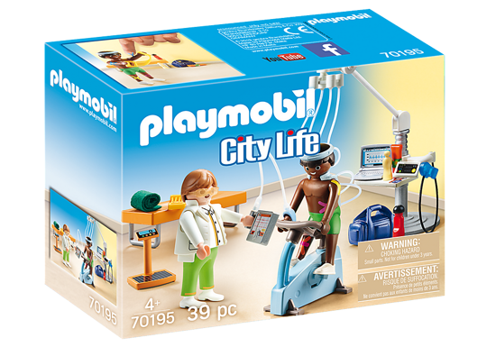 Image de Playmobil - Cabinet de Kinésithérapeute