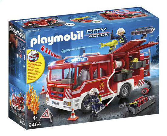 Image de Playmobil - Fourgon d'Intervention des Pompiers
