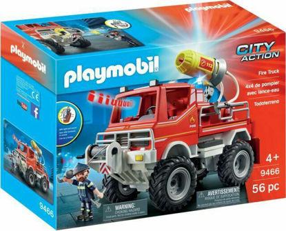 Image de Playmobil - 4X4 de Pompier avec Lance-Eau