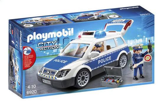 Image de Playmobil  Voiture Policier + Gyrophare