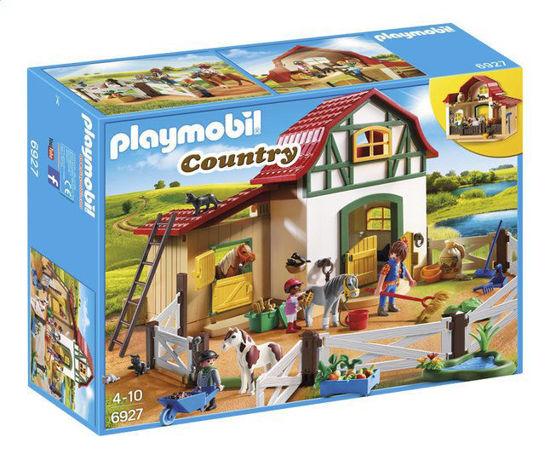 Image de PLAYMOBIL Country 6927 Poney club