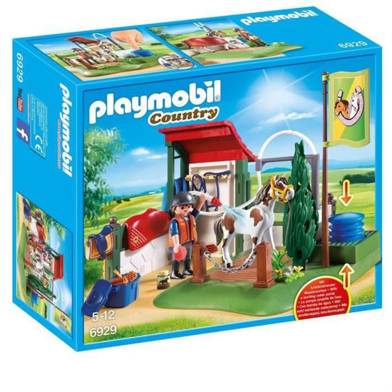 Image de Playmobil Box de lavage pour chevaux