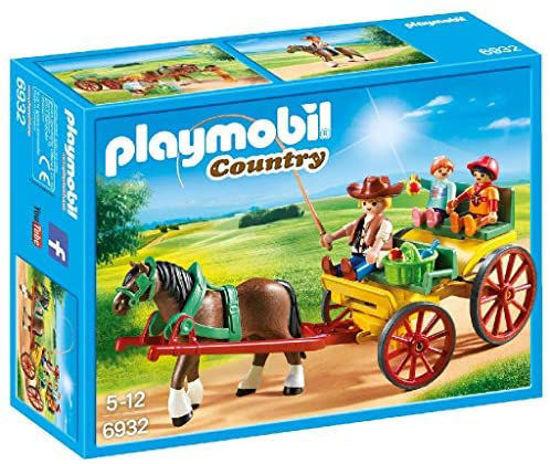 Image de Playmobil  Calèche avec attelage