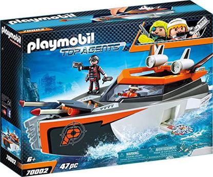 Image de Playmobil - Bateau Turbo Spy