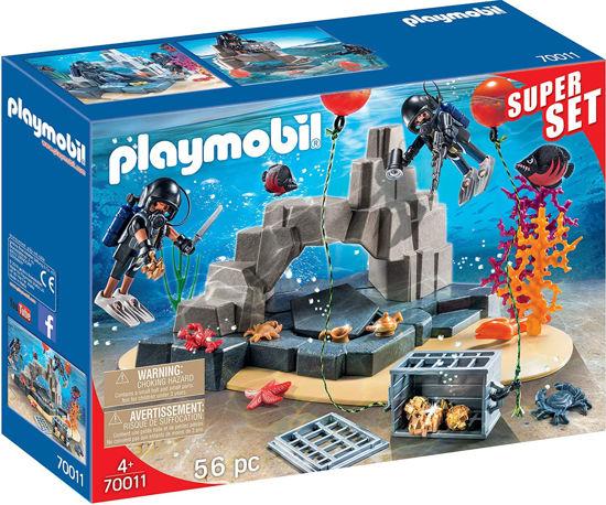 Image de Playmobil unité de plongée sous-marine