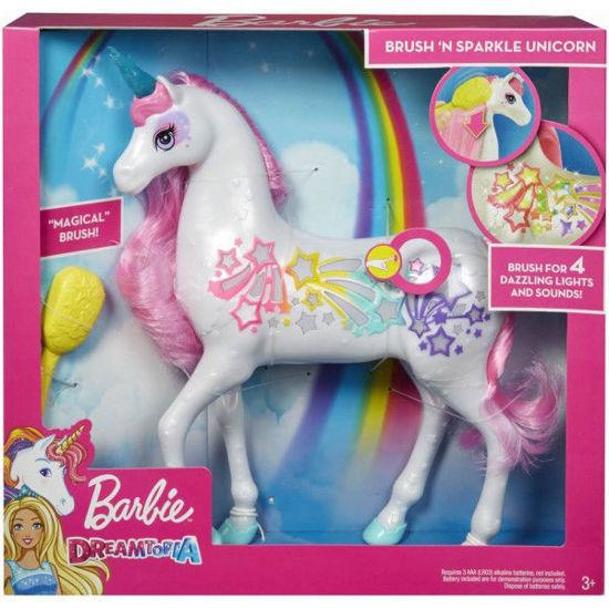Image de Barbie Dreamtopia Licorne Arc-en-ciel