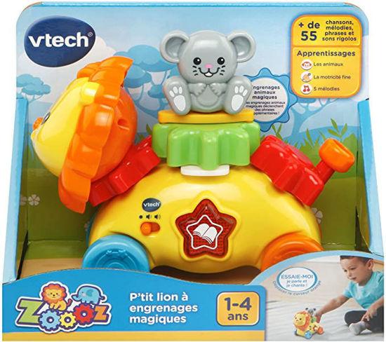 Image de VTech- Zoo-Petit Lion à Engrenages Magiques