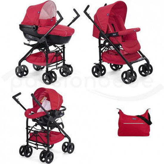 Image de Chicco poussette Trio Sprint Red Passion