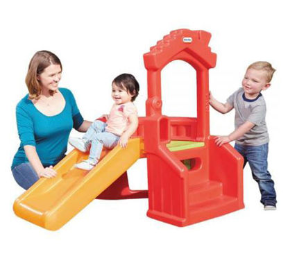 Image de Bounty Little Tikes Climb n Slide Playhouse