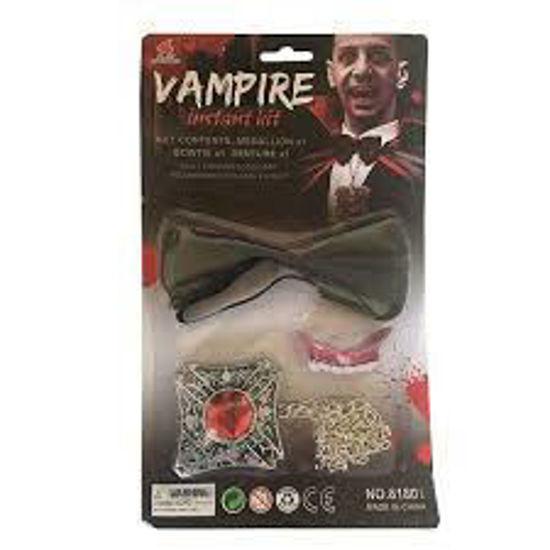 Image de Kit Vampire instantané  - Dracula