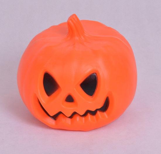 Image de Citrouille d'Halloween avec lanterne