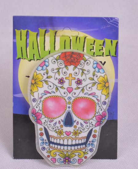 Image de Accessoire de décoration  lumineux  tête de mort.