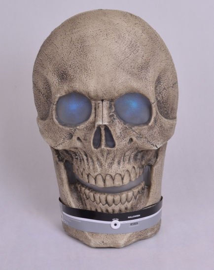 Image de SCARY SKULL halloween witn sound and light effect