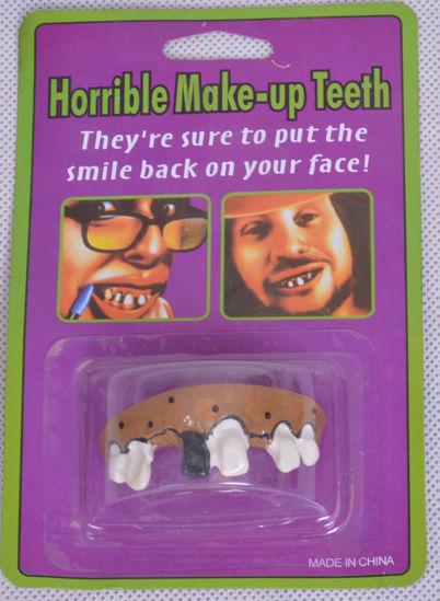 Image de Fausses dents accessoires Halloween